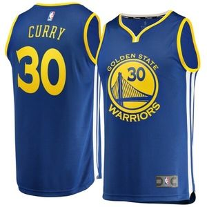 Golden State Warriors Curry 30 Youth Jersey